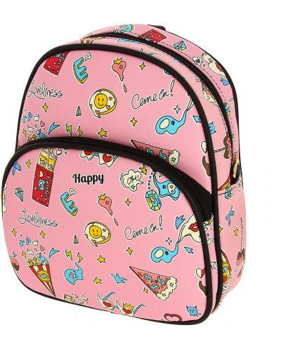 Рюкзак розовый всесезонный Kenka