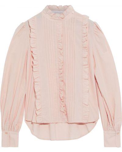 Хлопковая блузка на пуговицах с манжетами See By Chloé