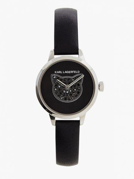 Черные часы Karl Lagerfeld