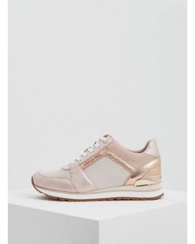 Розовые кроссовки Michael Michael Kors