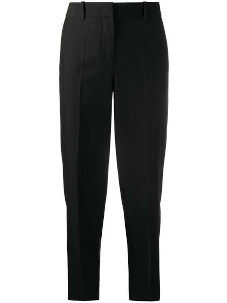 Укороченные брюки - черные Loewe