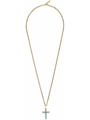 Ожерелье золотое с подвесками позолоченное Nialaya Jewelry