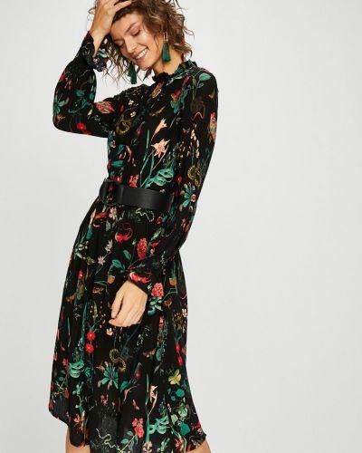 Платье миди из вискозы расклешенное Medicine