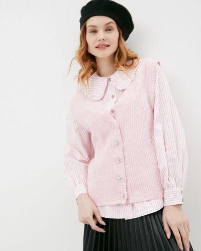 Розовая жилетка Mbym