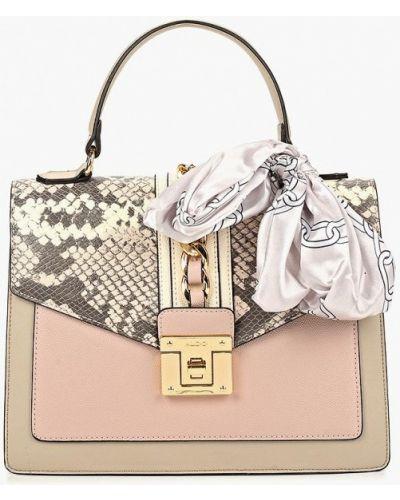 Кожаный сумка через плечо розовый Aldo
