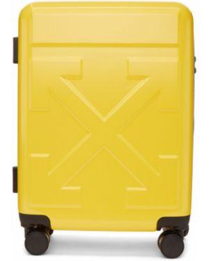 Droga torba biały żółty Off-white