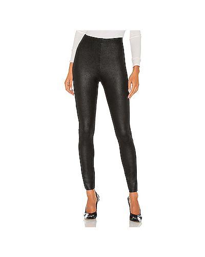 Замшевые черные брюки от морщин Commando