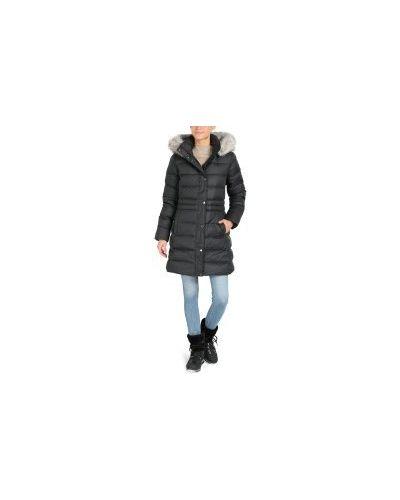Пальто пальто черное Tommy Hilfiger