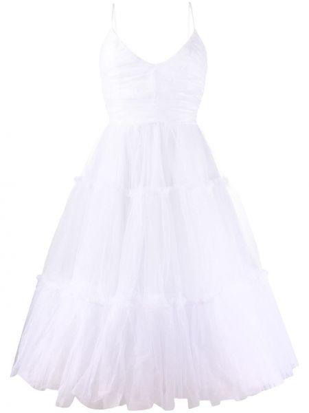 Платье миди с открытой спиной на бретелях Brognano