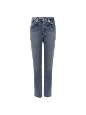 Хлопковые джинсы - синие Citizens Of Humanity
