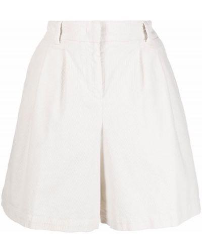 Хлопковые шорты - белые Pt01