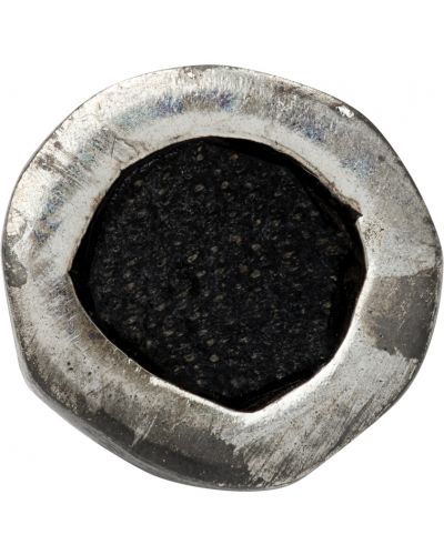 Kolczyki srebrne - czarne Guidi