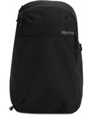 Czarny plecak klamry Marmot