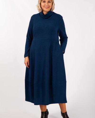 С рукавами трикотажное платье бохо милада
