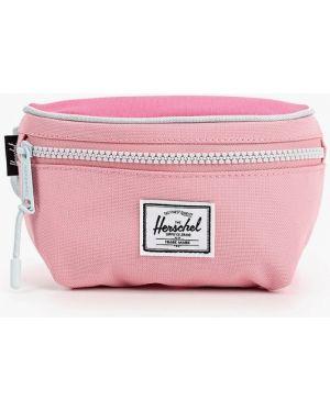 Розовая поясная сумка Herschel Supply Co
