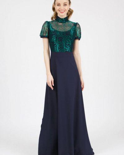Вечернее платье - синее Marichuell