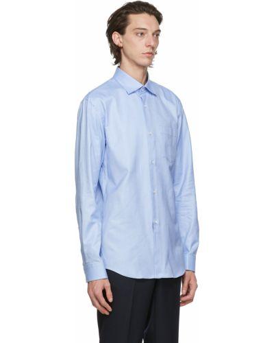 Biała koszula oxford bawełniana z długimi rękawami Comme Des Garcons Homme Deux
