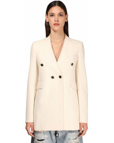 Biała kurtka bawełniana Givenchy