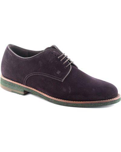 Кожаные туфли - фиолетовые Fratelli Rossetti