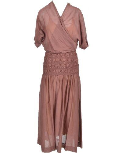 Brązowa sukienka Alysi