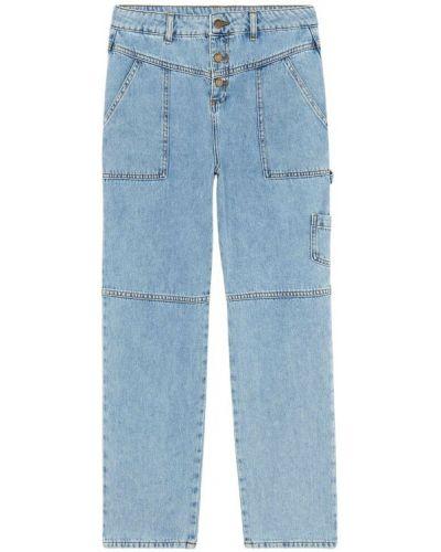 Niebieskie mom jeans Ba&sh