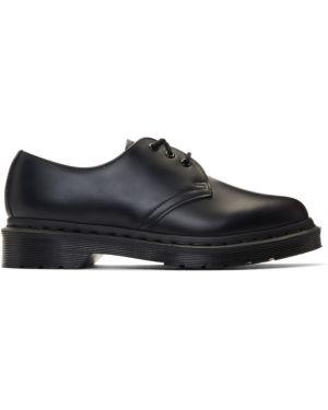 Оксфорды на шнуровке кожаные Dr Martens