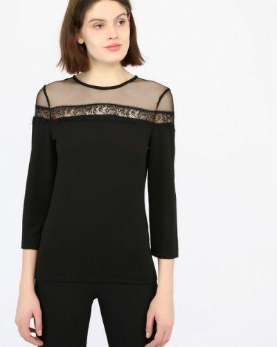 Блузка с длинным рукавом турецкий черная Mosaic