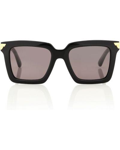 Солнцезащитные очки винтажные - черные Bottega Veneta