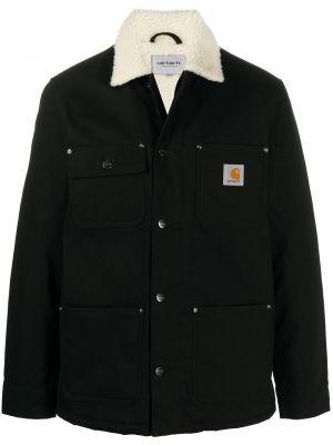 Длинная куртка - черная Carhartt Wip