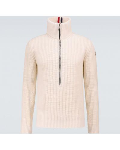 Бежевый свитер классический Moncler
