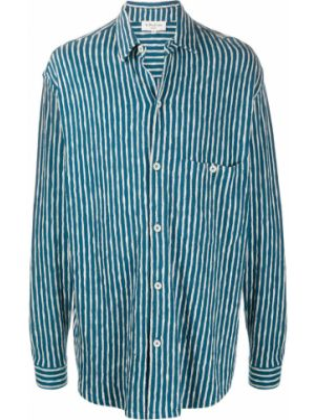 Koszula z długim rękawem klasyczna z paskami Ymc