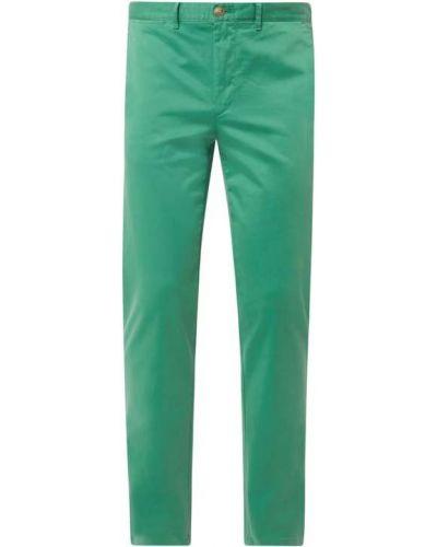 Zielone сhinosy bawełniane Tommy Hilfiger