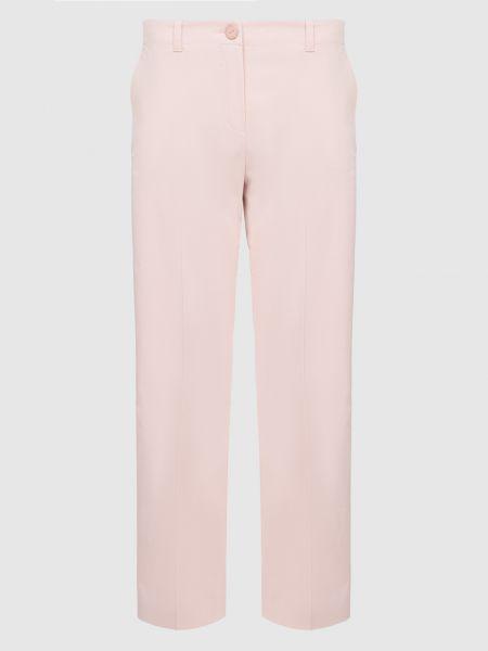Светло-розовые повседневные брюки Loro Piana