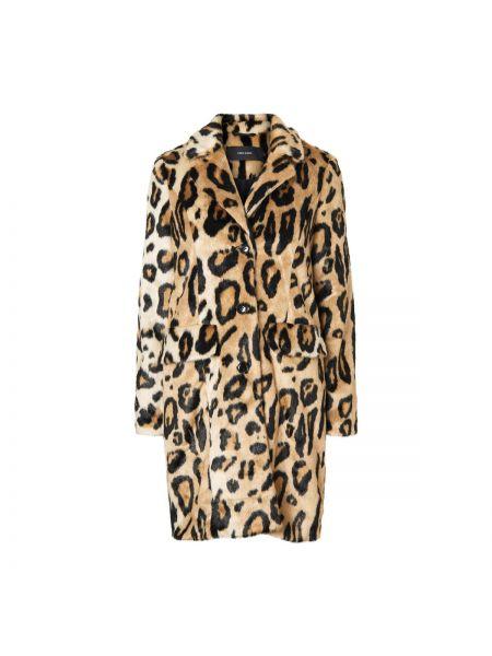Пальто прямое леопардовый Vero Moda