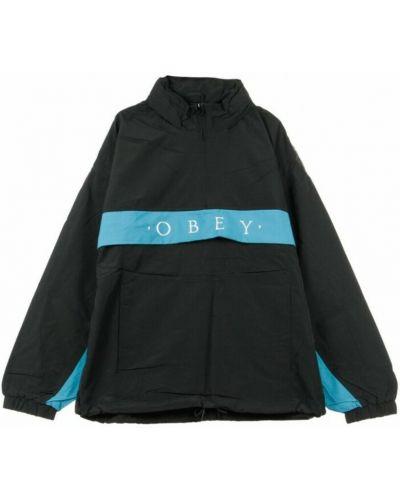 Czarna kurtka Obey