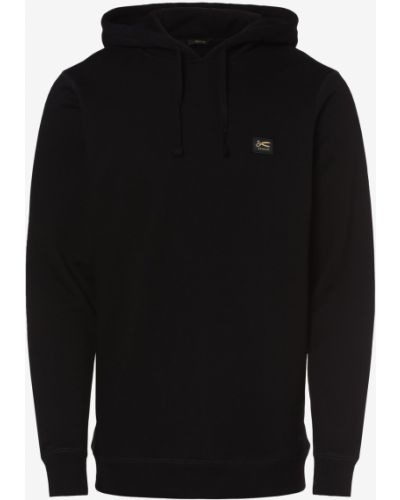 Czarna bluza z kapturem Denham