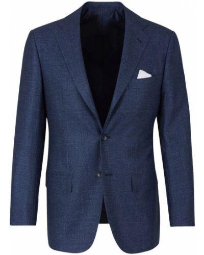 Klasyczny garnitur wełniany Kiton