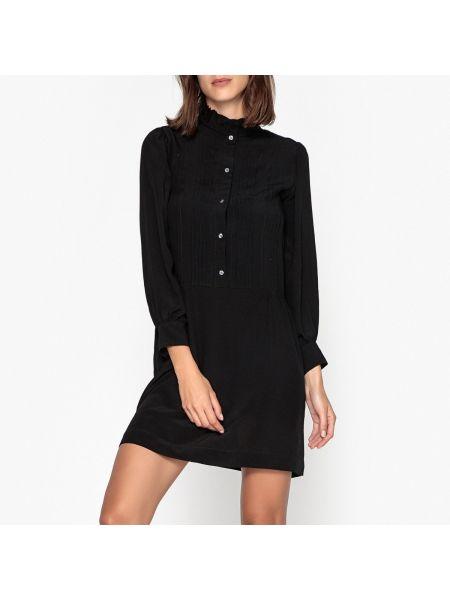Платье миди до колена - черное Soeur