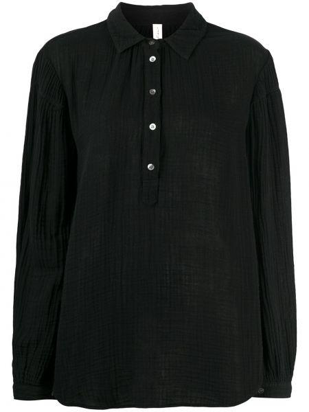 Классическая блузка с длинным рукавом с воротником на пуговицах с манжетами Raquel Allegra