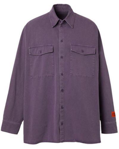 Koszula oversize - fioletowa Heron Preston