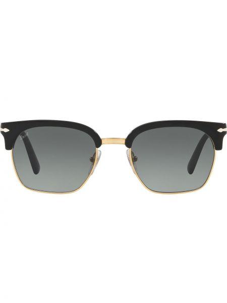 Золотистые солнцезащитные очки хаки Persol