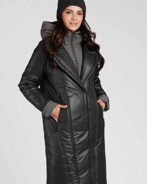Утепленная куртка демисезонная черная D`imma