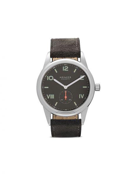 Кожаные часы Nomos Glashütte