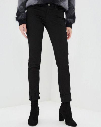 Черные джинсы-скинни с пайетками Boss Hugo Boss