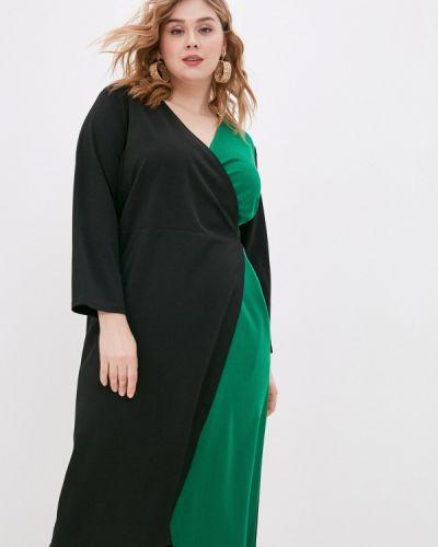 Черное платье с запахом Svesta