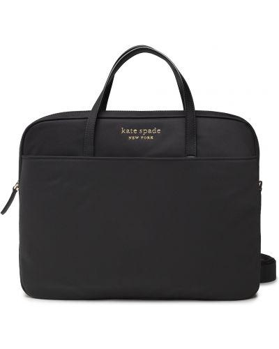 Czarna torba na laptopa Kate Spade