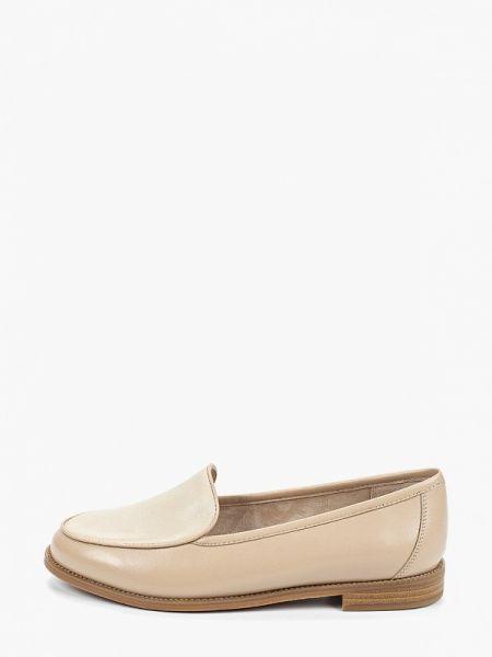 Кожаные туфли бежевый Thomas Munz