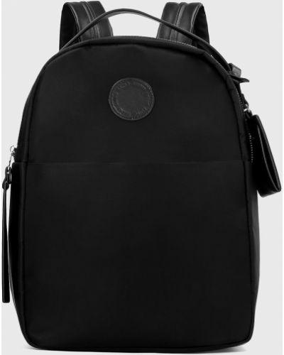 Plecak na laptopa z paskami z wzorem Kazar Studio