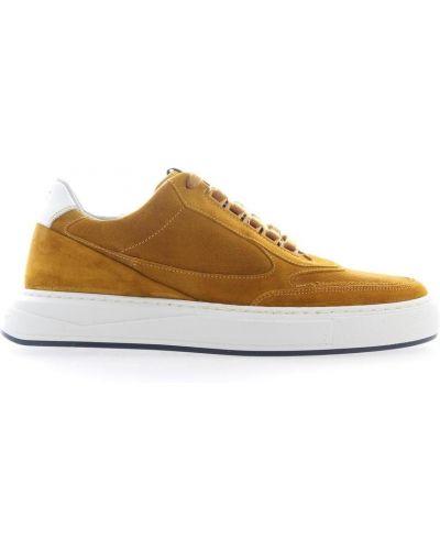 Żółte sneakersy Floris Van Bommel