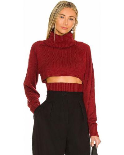 Шерстяной свитер - бордовый Nbd